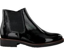 Schwarze Gabor Chelsea Boots 92.701