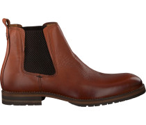 Cognacfarbene Omoda Ankle Boots Minfusa610.01Omo