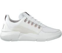Weiße Nubikk Sneaker Elven Royal