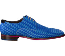 Blaue Business Schuhe 14157