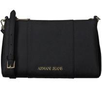 Schwarze Armani Jeans Umhängetasche 922544