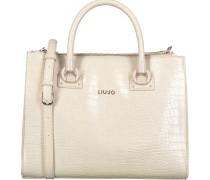 Beige Liu Jo Handtasche Manh Shopping Bag
