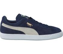 Blaue Puma Sneaker Suede Classic+ Dames