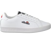 Weiße Ellesse Sneaker Campo Emb Lthr Af