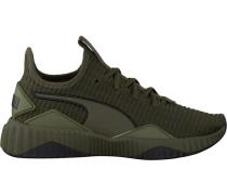 Grüne Puma Sneaker Defy WMN