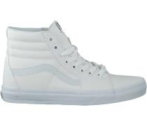 Weiße Vans Sneaker Sk8-Hi Women