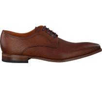 Cognacfarbene Van Lier Business Schuhe 6000