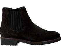 Schwarze Gabor Chelsea Boots 701