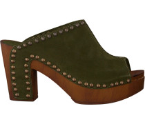 Grüne Replay Pantolette Xiana