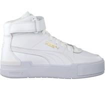Puma Sneaker High Cali Sport Top Warm Up Wn's Weiß Damen