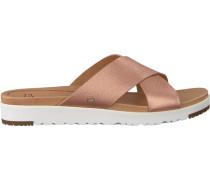 gold UGG shoe Kari Metallic