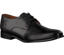 Schwarze Van Lier Business Schuhe 1911401