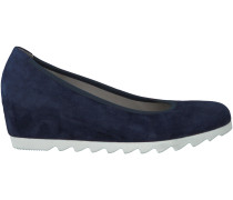 Blaue Gabor Slipper 65.320