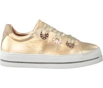 Goldfarbene Maripe Sneaker 26708