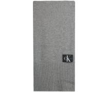 Calvin Klein Schal J Basic Men Knitted Scarf Grau Herren