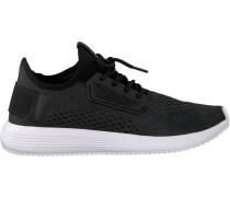 Schwarze Puma Sneaker Uprise Mesh