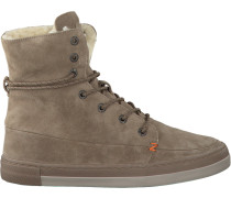 Beige HUB Ankle Boots Vermont