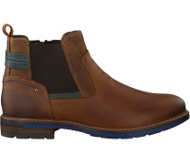 Cognacfarbene Omoda Ankle Boots 620084
