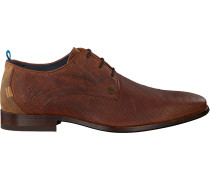 Cognacfarbene Rehab Business Schuhe Greg Wall 02