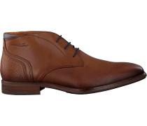 Cognacfarbene Van Lier Business Schuhe 1951701