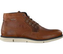 Cognacfarbene Gaastra Ankle Boots Iberian MID TMB