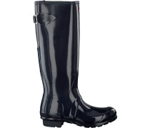 Blaue Hunter Gummistiefel Original Back