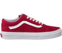 Rote Vans Sneaker OLD Skool OLD Skool