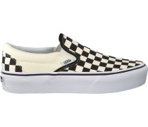 Weiße Slip-on Sneaker Classic Slip ON Platform