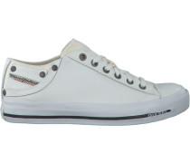 Weiße Diesel Sneaker Magnete Exposure IV W