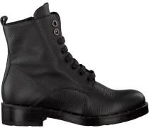 Schwarze Tosca Blu Shoes Schnürstiefel Sf1710S198