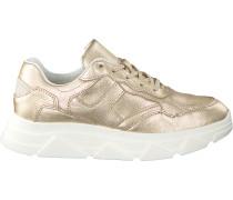 Goldfarbene Omoda Sneaker Low Kady Fat 10-i