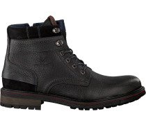 Graue Nza New Zealand Auckland Schnürboots Foxton High