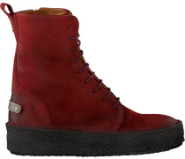 Rote Shabbies Schnürboots 184020014