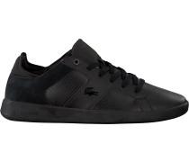 Schwarze Lacoste Sneaker Novas 318