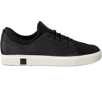 Schwarze Sneaker Amherst Trainer Sneaker