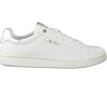 Weiße Bjorn Borg Sneaker Low T306 Prf W