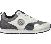 Weiße Guess Sneaker Flrea1 Pat12