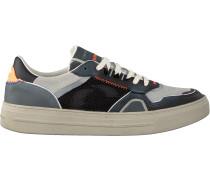 Schwarze Crime London Sneaker Low Lunar