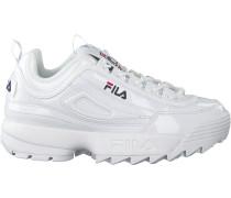 Weiße Fila Sneaker Disruptor M LOW WMN