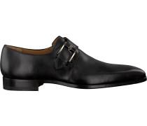 Schwarze Magnanni Business Schuhe 16608