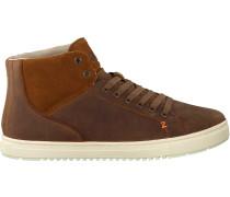 Braune HUB Sneaker Murrayfield