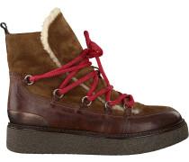 Cognacfarbene Via Vai Ankle Boots 5102046
