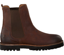 Braune Shabbies Chelsea Boots 181020148