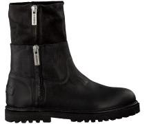 Schwarze Shabbies Ankle Boots 191020017