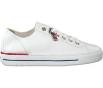 Weiße Paul Green Sneaker Low 4760-006