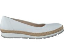 Weiße Gabor Slipper 400
