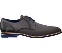 Graue Braend Business Schuhe 15700