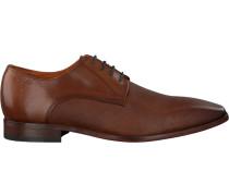 Cognacfarbene Van Lier Business Schuhe 6030