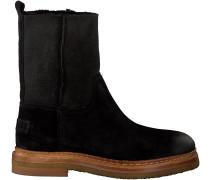Schwarze Shabbies Ankle Boots 181020034