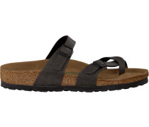 grey Birkenstock Papillio shoe Mayari Pull UP